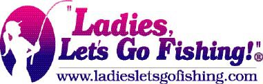 Ladies Let's Go Fishing Logo