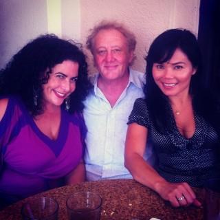 Sandra, Dr. Stephen Holt and Tonya